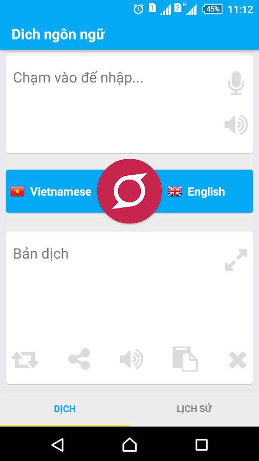 ứng dụng dịch tiếng nhật cho android