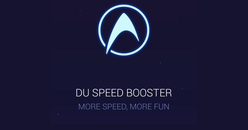 du speed booster ứng dụng dọn rác cho android tốt nhất